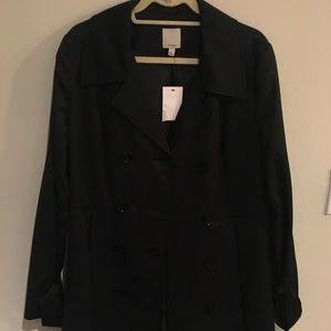 Halogen trench coat, brand new!